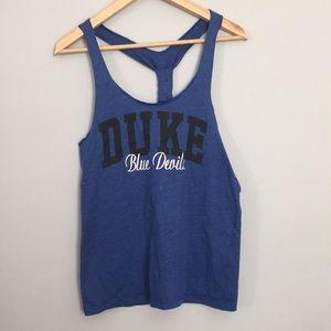Duke Blue Devils Racerback Tank Medium